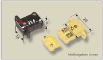 Miniature built-in jacks